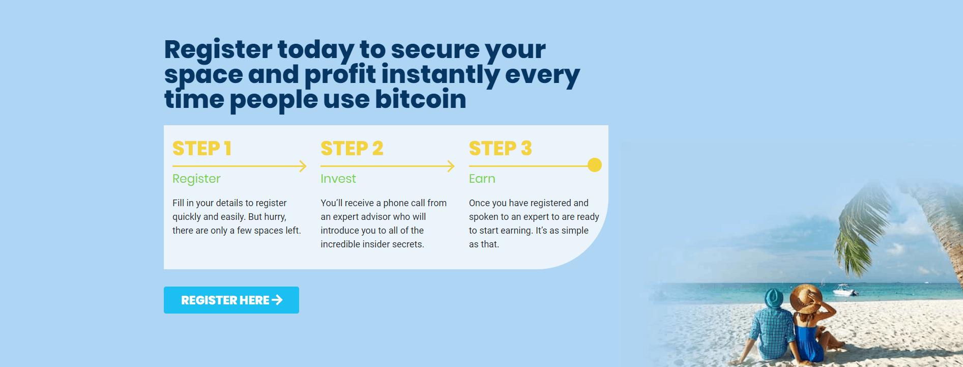 Registrer deg til Bitcoin Billionaire