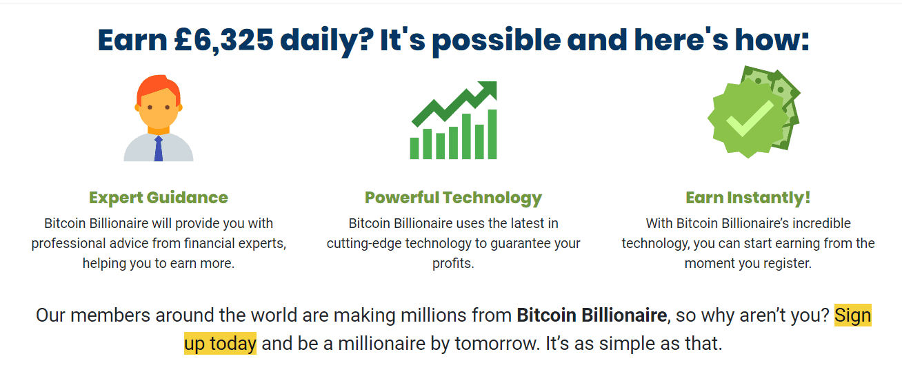 Πως Bitcoin Billionaire λειτουργεί