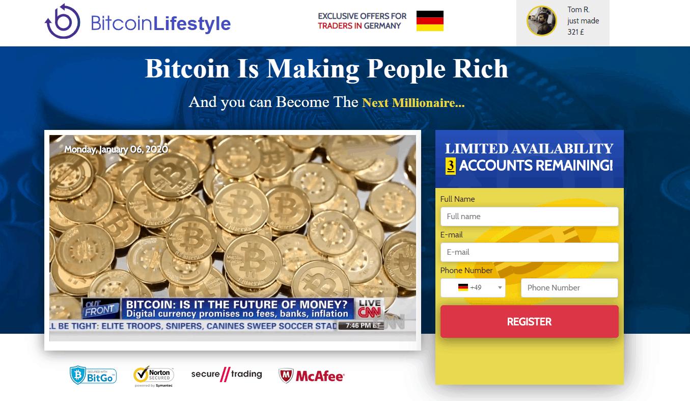 Bitcoin Lebensstil