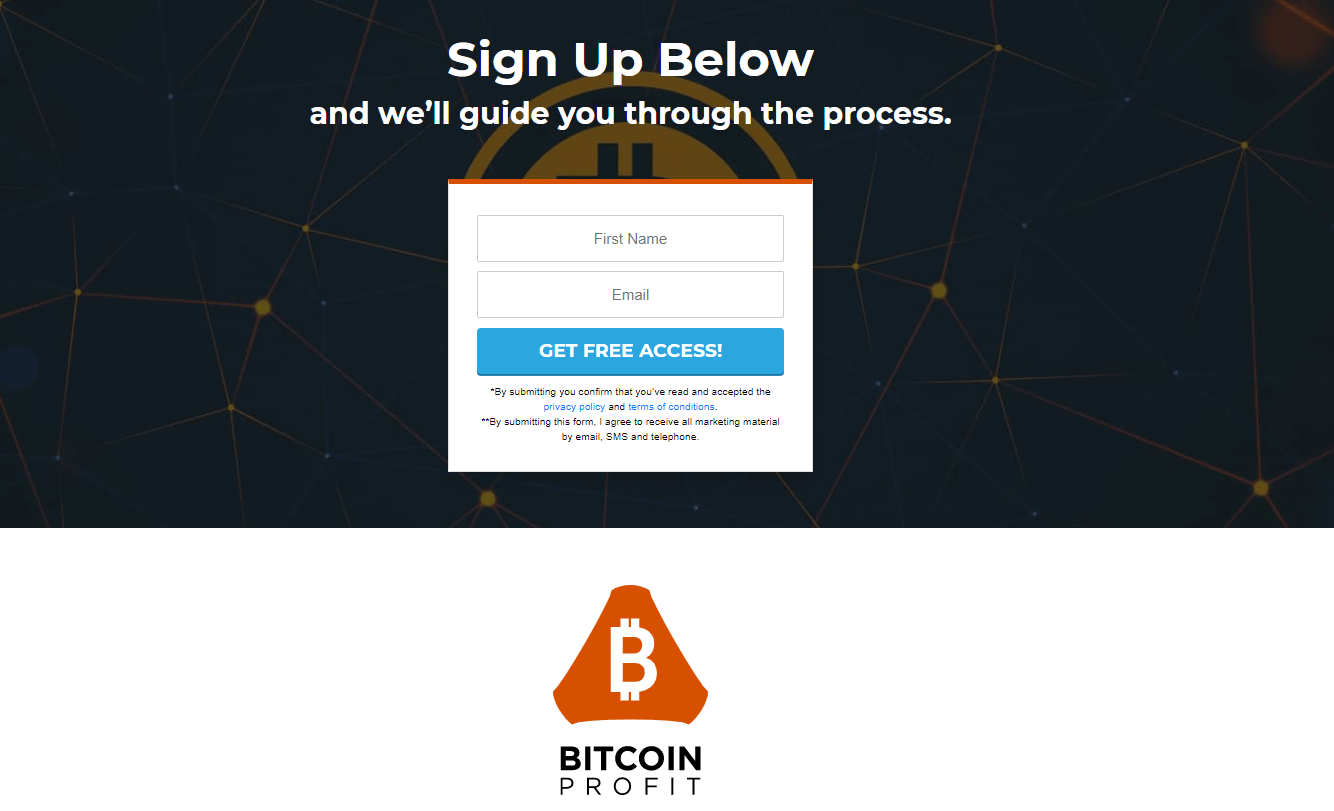 Inscrivez-vous pour Bitcoin Pros'adapter