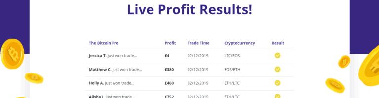 Bitcoin Pro profits August 11, 2020