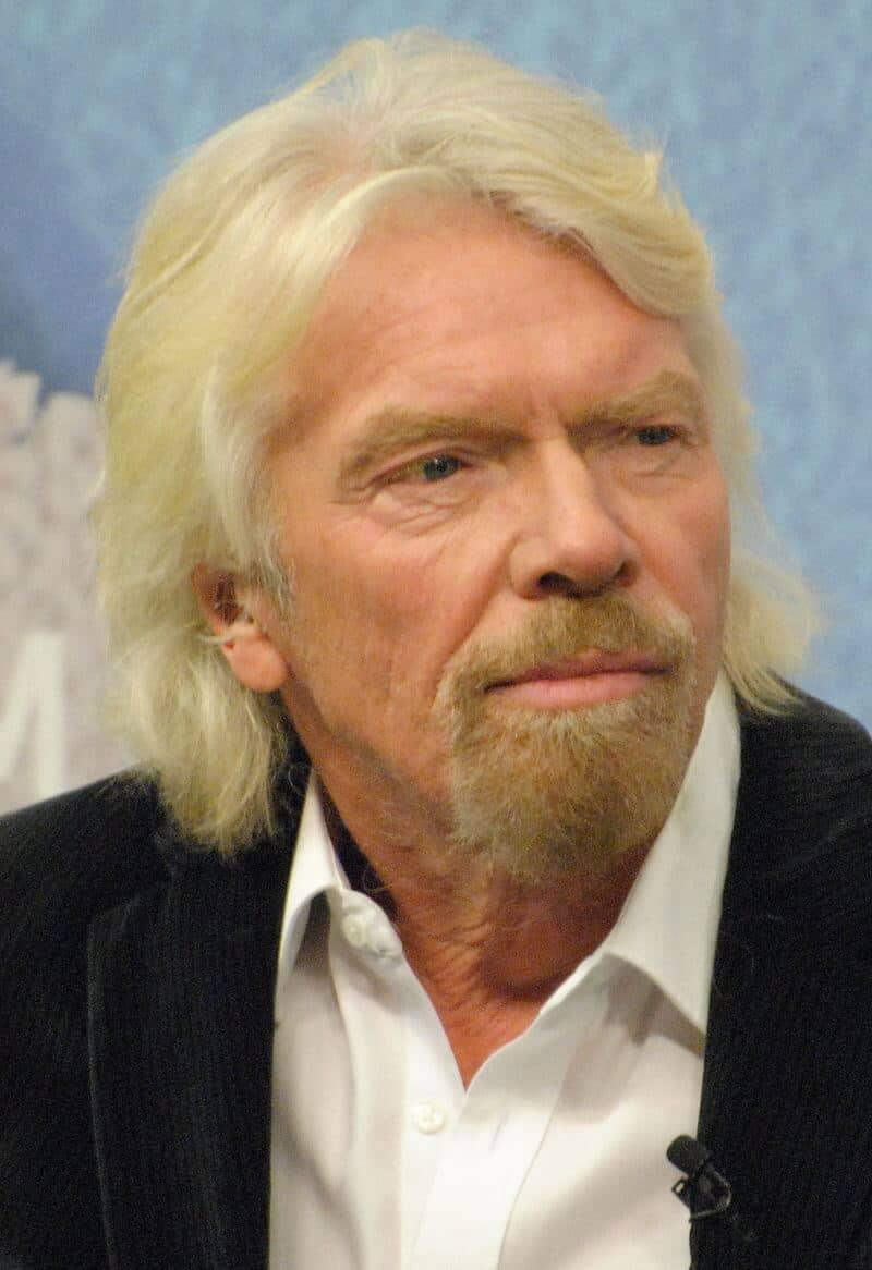 Face of Richard Branson