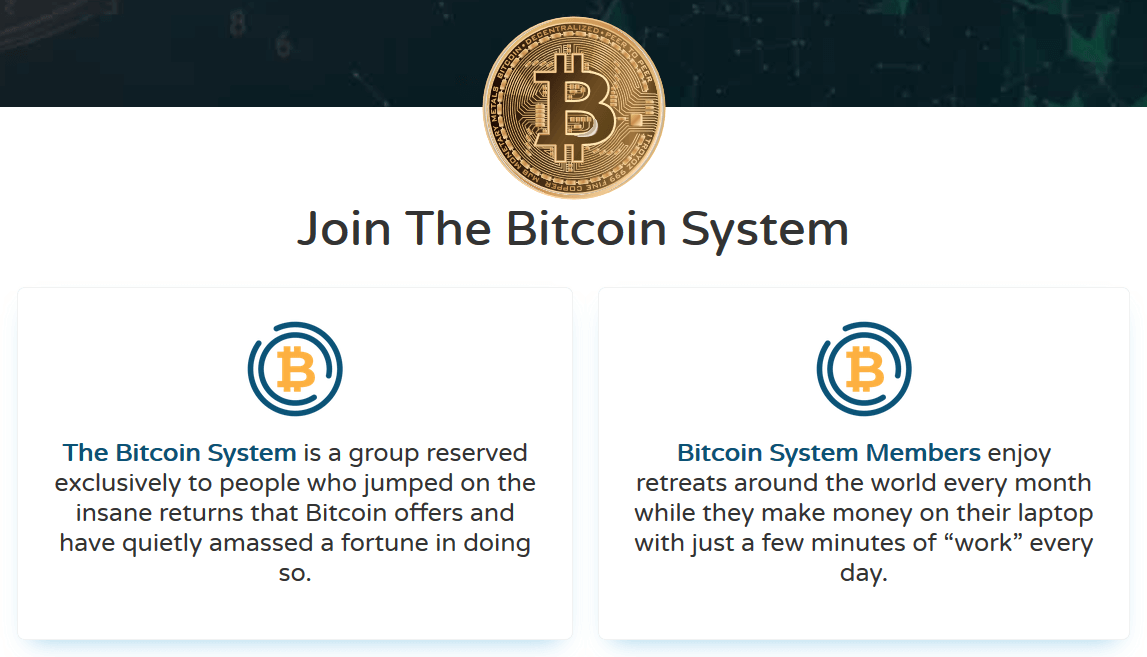 Trading platform interface Bitcoin System July 12, 2020