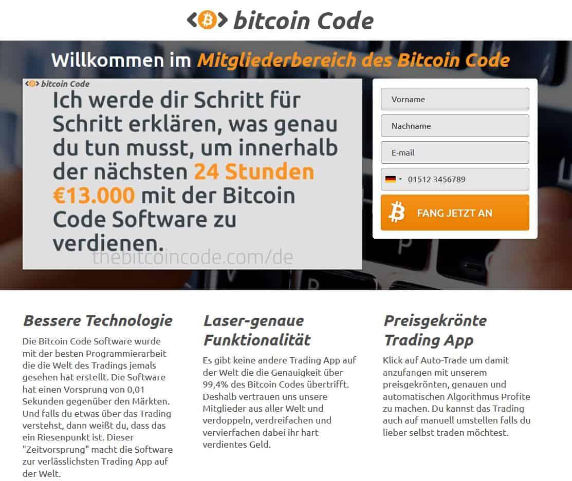 bitcoin code member May 30, 2020