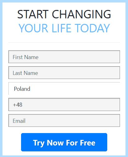 BitQT account register form