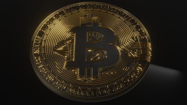 Moneta d'oro grande BTC