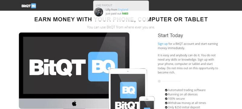 Cómo funciona el comercio con BitQT