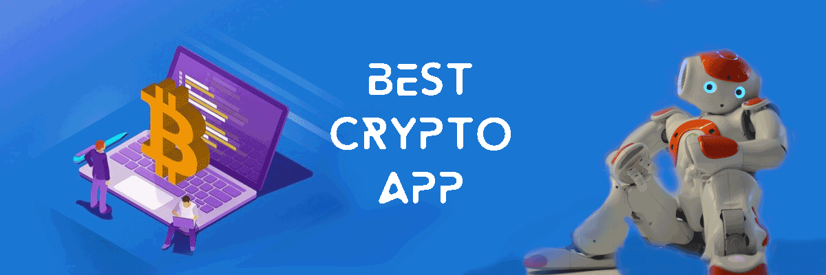 best crypto app ranking blue banner