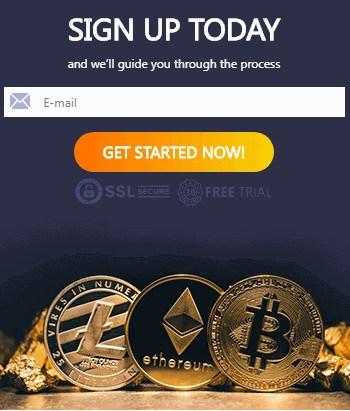 Bitcoin Hero login form August 11, 2020